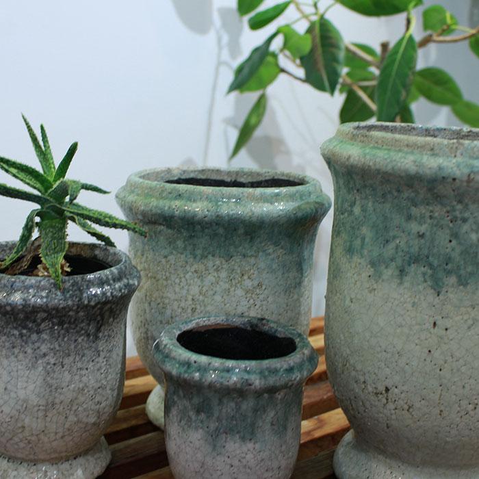 MELS 鉢カバー Mサイズ  陶器  鉢カバー 観葉植物04