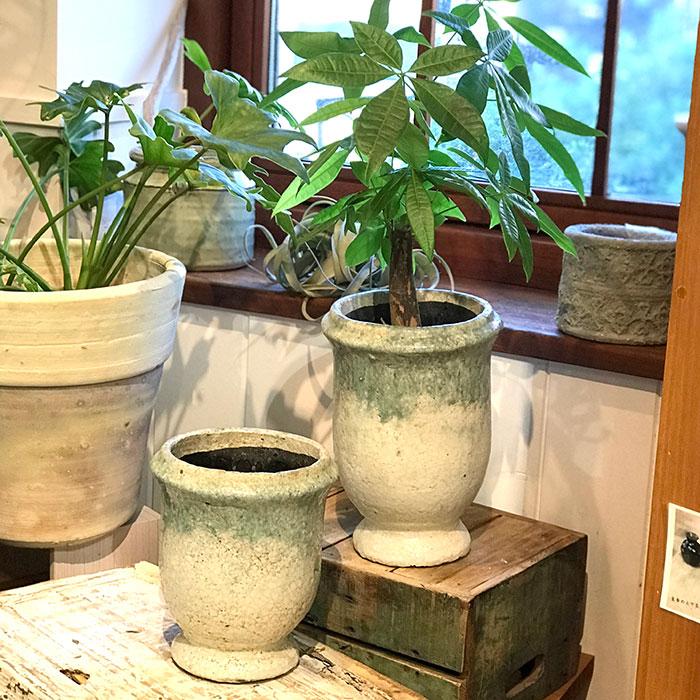 MELS 鉢カバー Mサイズ  陶器  鉢カバー 観葉植物06