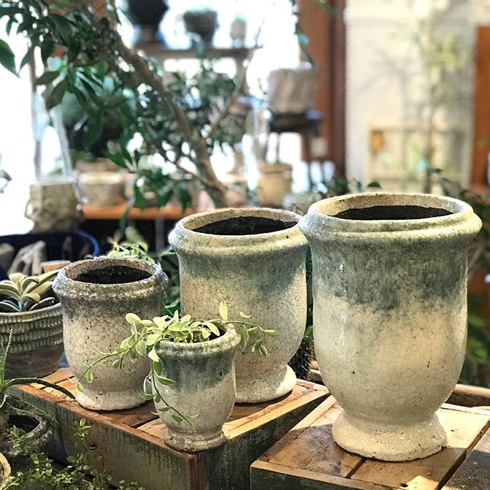 MELS 鉢カバー Mサイズ  陶器  鉢カバー 観葉植物07