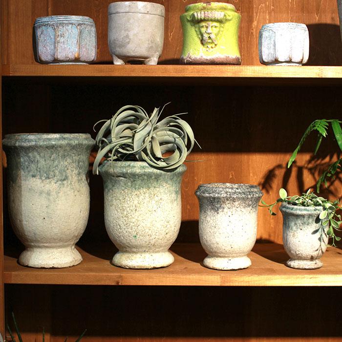 MELS 鉢カバー Mサイズ  陶器  鉢カバー 観葉植物09